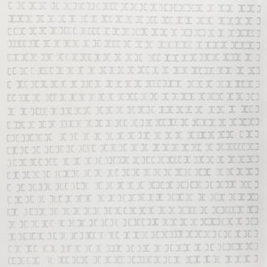 """""""Proceso I"""", 2012, Serie: Procesos, Grapas sobre papel de algodón, 57 x 76 cm."""