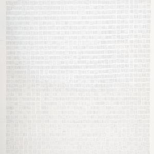"""Proceso III"", 2013, Serie: Procesos, Grapas sobre papel de algodón, 57 x 76 cm."