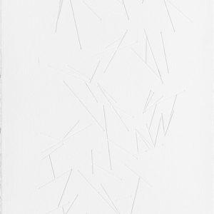 """""""Laberinto Interno V"""", 2014, Serie: Laberintos, Grabado: Intaglio sobre papel de algodón, 57 x 76 cm."""